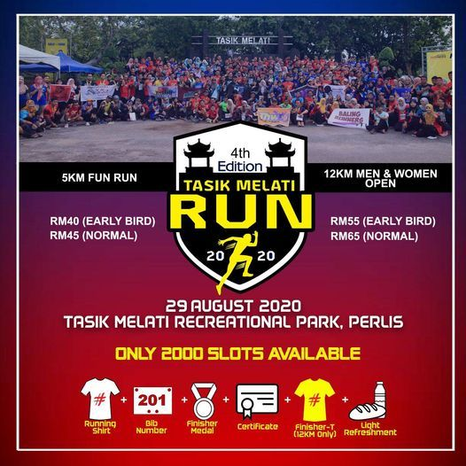 Tasik Melati Run 2020, 7 August   Event in Kuala Lumpur   AllEvents.in