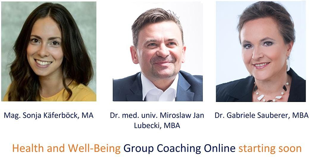 Health and Well-Being Group Coaching Online