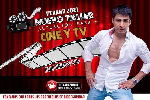 NUEVO TALLER DE ACTUACIÓN PARA CINE Y TV - VERANO 2021 // CUPOS LIMITADOS   Event in Lima   AllEvents.in