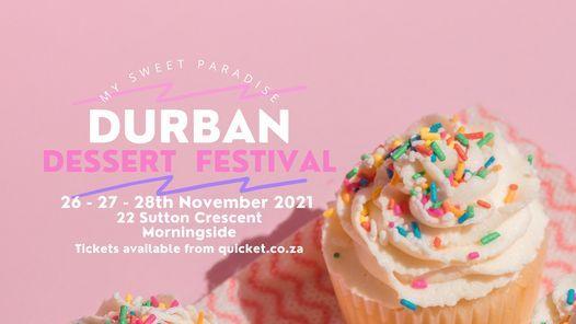 Durban Dessert Festival 2021, 26 November   Event in Durban   AllEvents.in