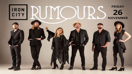 Rumours at Iron City Live!, 26 November | Event in Birmingham | AllEvents.in
