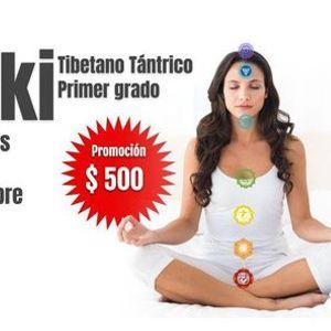 Primer grado de Reiki Tibetano Tntrico