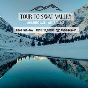 3 Days Winter Tour to Swat Valley (Mahudand Lake or Malam Jabba)