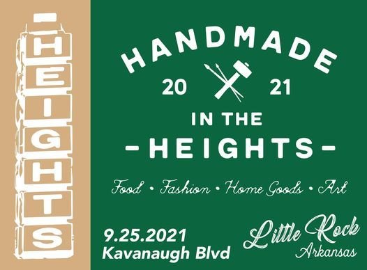 Handmade in the Heights   Event in Little Rock   AllEvents.in