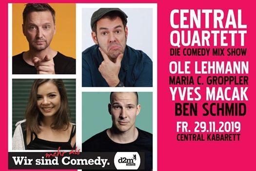 Central Quartett - Die Comedy Mix Show