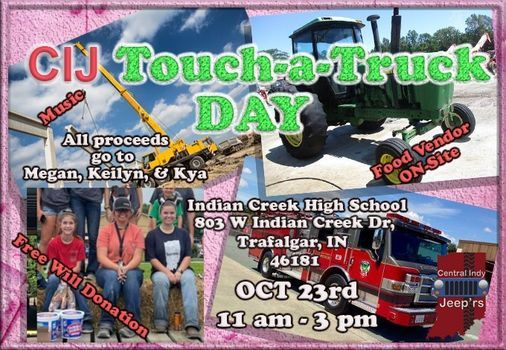 CIJ Touch-A-Truck Day, 23 October | Event in Trafalgar | AllEvents.in