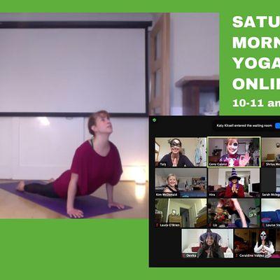 ChART Saturday morning Yoga - Online
