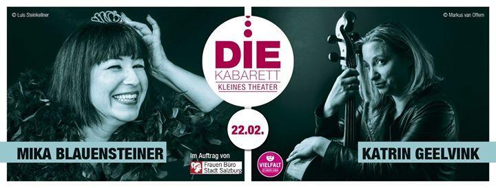 DIE Kabarett Mika Blauensteiner & Katrin Geelvink