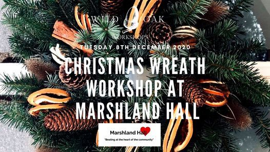 Christmas wreath workshops at Marshland Hall, 8 December | Event in Wisbech | AllEvents.in