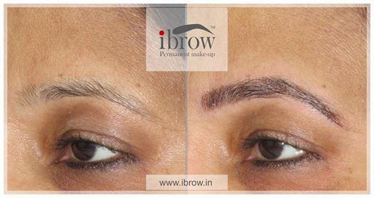 Eyebrow Microblading Training by Dr Gunjan Shah at Ibrow, Ahmedabad