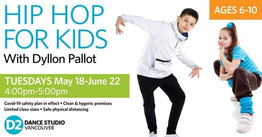 Hip Hop Classes for Kids (Ages 6-10), 18 May | Event in Vancouver | AllEvents.in