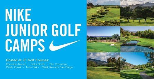 Nike Junior Golf Camps at Encinitas Ranch Golf Course