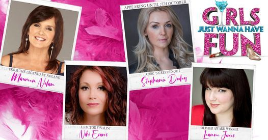 Girls Just Wanna Have Fun - Swan Theatre, Worcester, 12 September | Event in Worcester | AllEvents.in