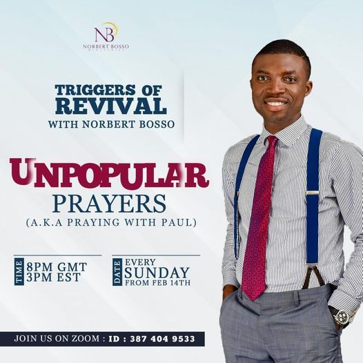 Triggers of Revival, 9 May | Event in Accra | AllEvents.in