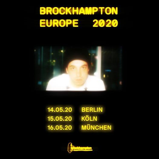 Brockhampton - Europe 2021  Mnchen