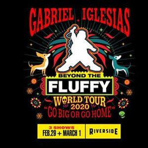Gabriel Iglesias NIGHT TWO at the Riverside Theater