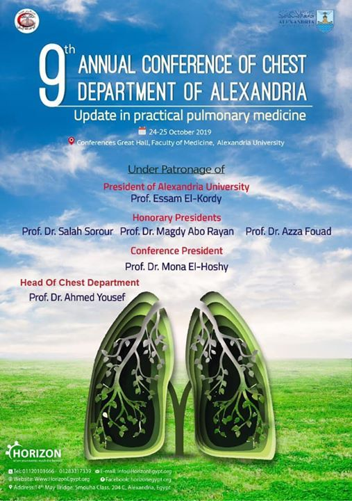 9th Annual Conference Of Chest Department Of Alexandria