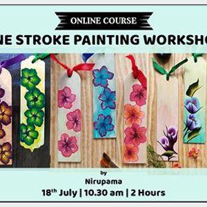 One Stroke Painting Workshop by Nirupama