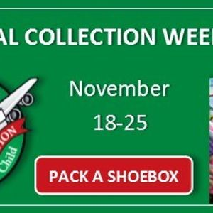 Operation Christmas Child Drop Off.Operation Christmas Child Drop Off Week At Sycamore Tree