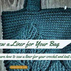 Sewing with Julia - Sew a Liner for Your Bag