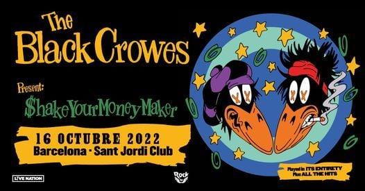 The Black Crowes en Barcelona (Evento oficial), 9 November | Event in Barcelona | AllEvents.in