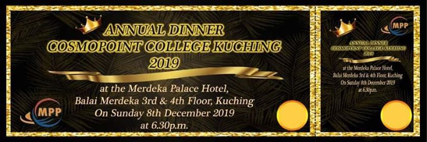 Annual Dinner Cosmopoint College Kuching 2019