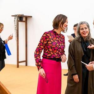 Kuratorenfhrung mit Sabine Schaschl zu Leonor Antunes