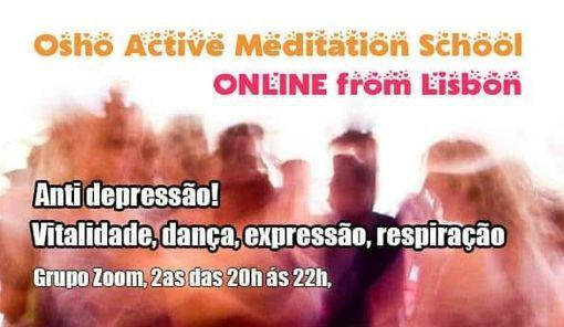Escola de Meditação Activa Osho ON LINE!, 12 April | Event in Lisbon | AllEvents.in