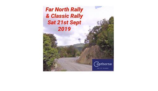Copthorne Bay of Islands Far North Rally & Classic Rally 2019