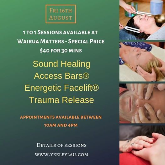 1 to 1 Healing with Yee Ley (TAUPO)
