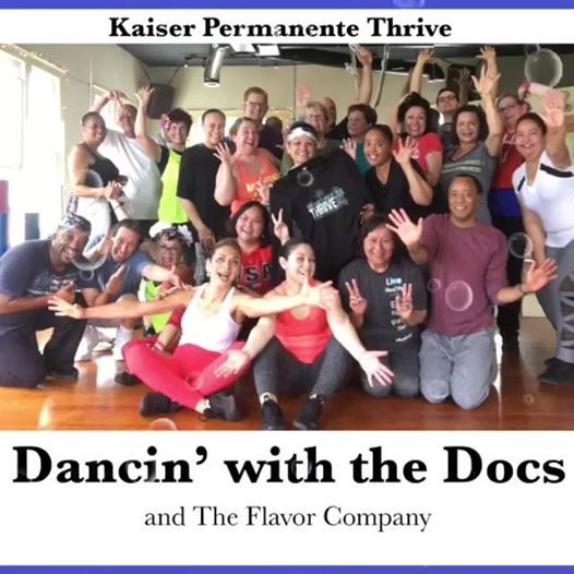 Kaiser Permanente Thrive dance party