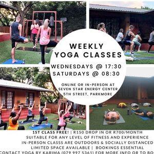 Yoga - Weekend Warm Up