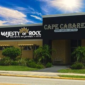 Date changed to July 2 2021 Majesty of Rock  Cape Cabaret
