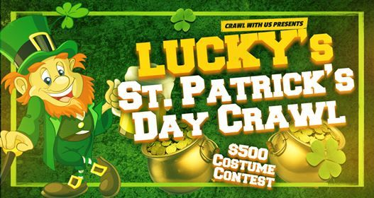 Luckys St.Patricks Day Crawl - Charlotte - Free