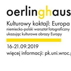 Kulturowy koktajl Europa. Interkulturowy warsztat fotograficzny