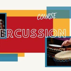 Percussion course -   -