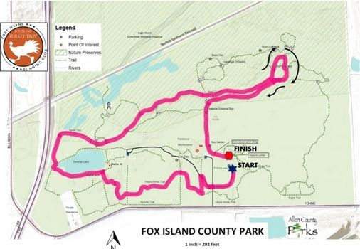 27th Annual Fox Island Turkey Trot 5k, 20 November   Event in Fort Wayne   AllEvents.in