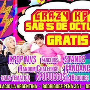 KPOP STARS Crazy KPOP Gratis Sbado 5 de Octubre - 2 PISOS