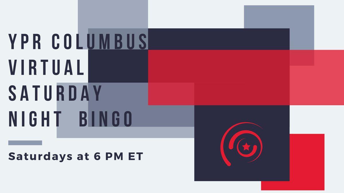 YPR Columbus: Saturday Night Virtual Bingo | Online Event | AllEvents.in