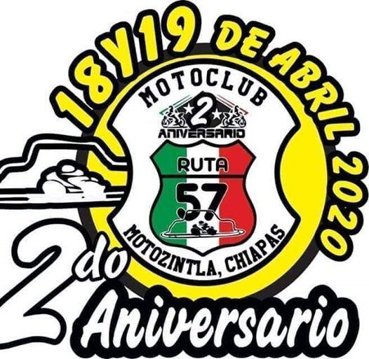 2DO ANIVERSARIO MOTOCLUB RUTA 57