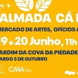 Almada C Fora 19 e 20 Junho  Mercado de Artes Ofcios & Sabores