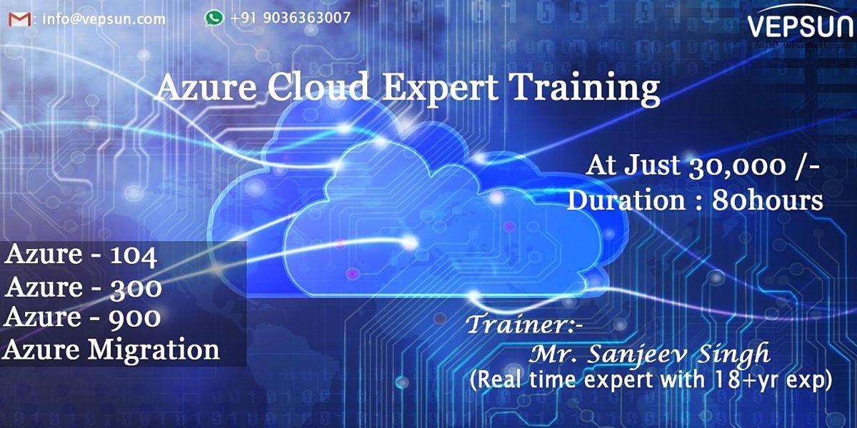 Azure Cloud Expert Training | Online Event | AllEvents.in