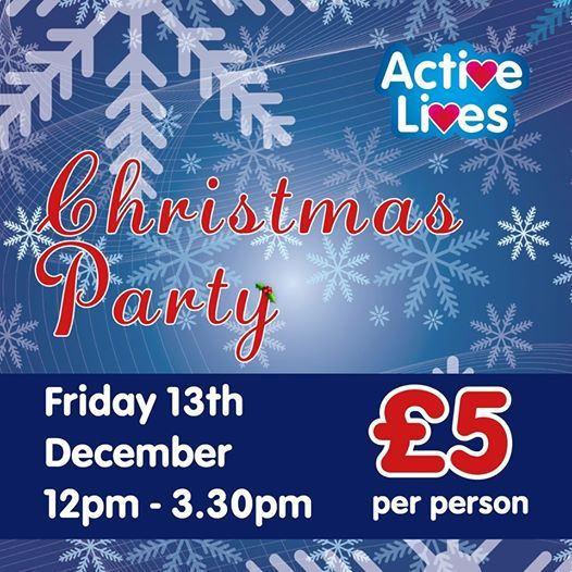 Active Lives Christmas Party