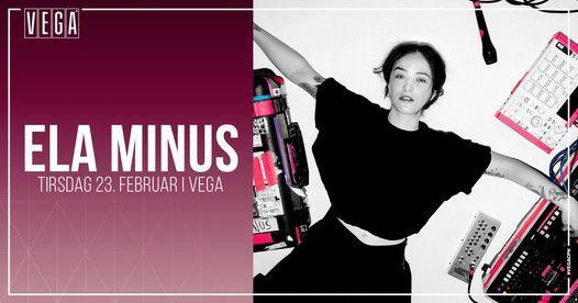 Ela Minus - VEGA - Udskudt, 24 December | Event in Copenhagen | AllEvents.in