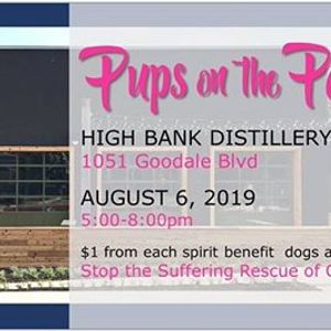 Pups on the Patio- High Bank Distillery