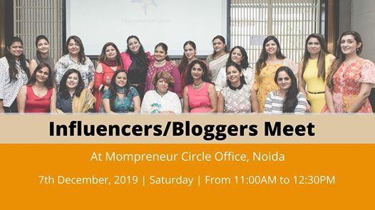 InfluencersBloggers Meet