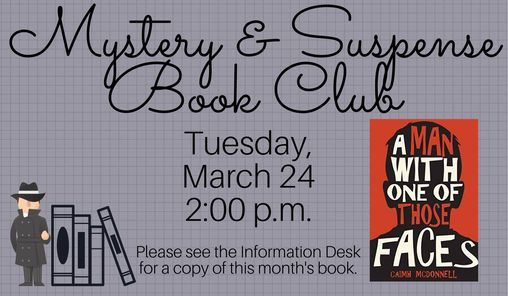 Mystery & Suspense Book Club, 26 January | Event in New Port Richey | AllEvents.in