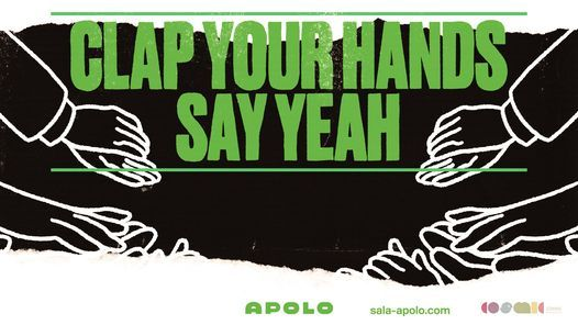 Clap Your Hands Say Yeah, 1 October | Event in Barcelona | AllEvents.in