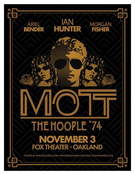 Mott the Hoople 74 at Fox Theater