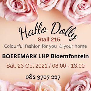 Hallo Dolly at Boeremark Bloemfontein 23 Oct 2021